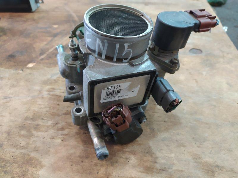 Заслонка дроссельная Nissan Pulsar FN15 GA15DE 2000