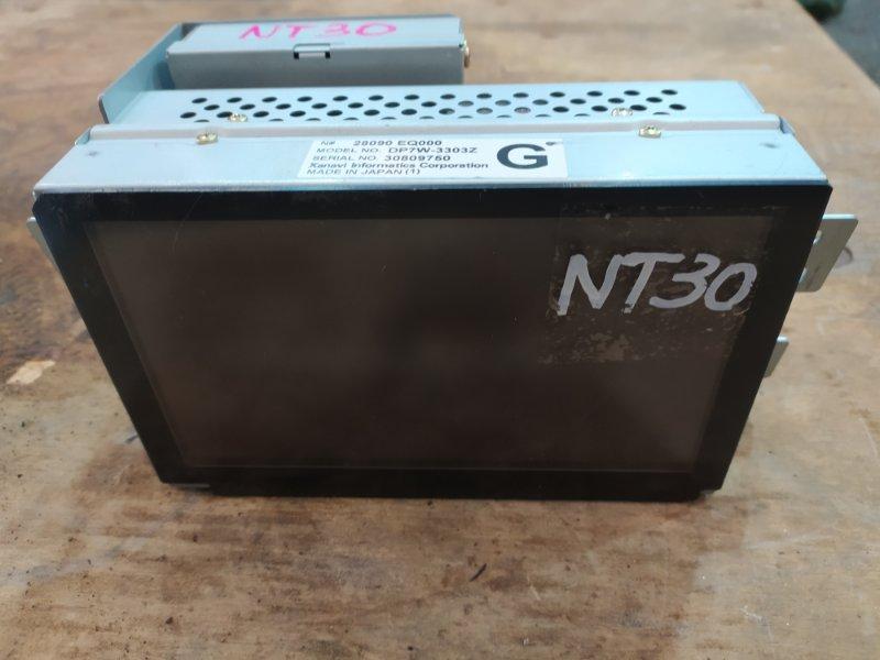 Дисплей Nissan X-Trail NT30 QR20DE 2003