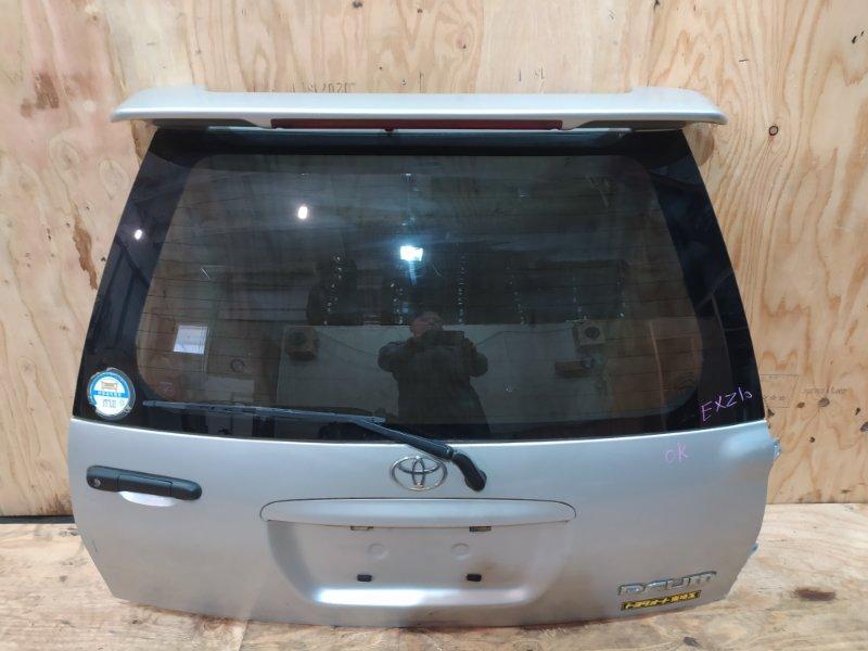 Дверь задняя багажника Toyota Raum EXZ10 `5E-FE 1997