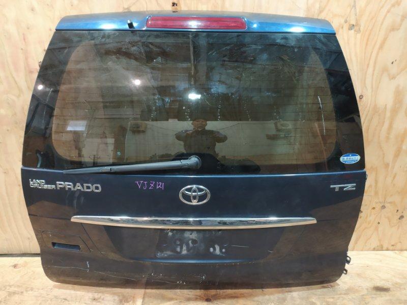 Дверь задняя багажника Toyota Land Cruiser Prado VZJ121 5VZ-FE 2004