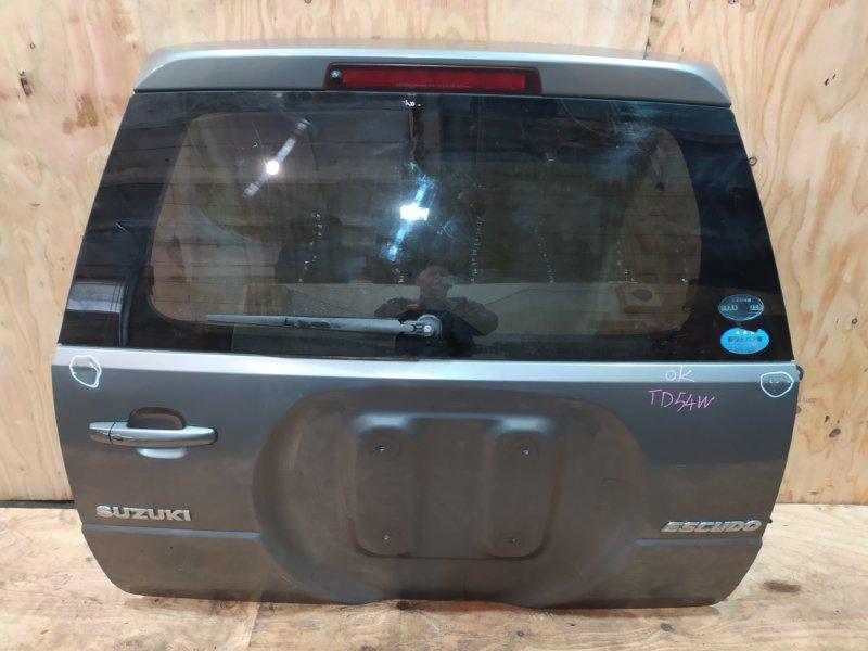 Дверь задняя багажника Suzuki Escudo TD54W J20A 2007