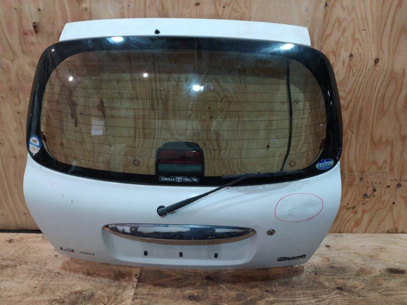 Дверь задняя багажника Toyota Duet M111A K3-VE 2001
