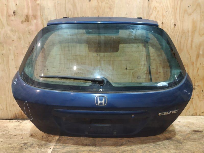 Дверь задняя багажника Honda Civic EU1 D15B 2001