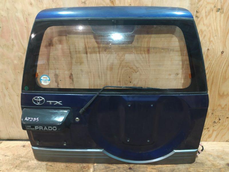 Дверь задняя багажника Toyota Land Cruiser Prado KZJ95W 1KZ-TE 1997