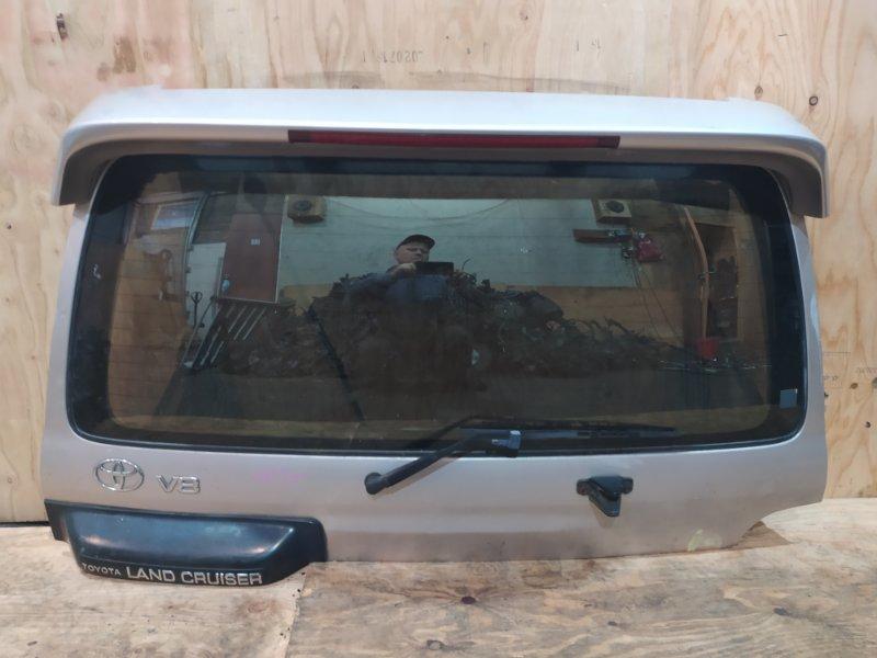 Дверь задняя багажника Toyota Land Cruiser UZJ100W 2UZ-FE 1998