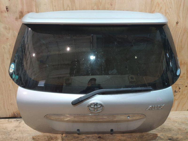 Дверь задняя багажника Toyota Allex NZE121 1NZ-FE 2001