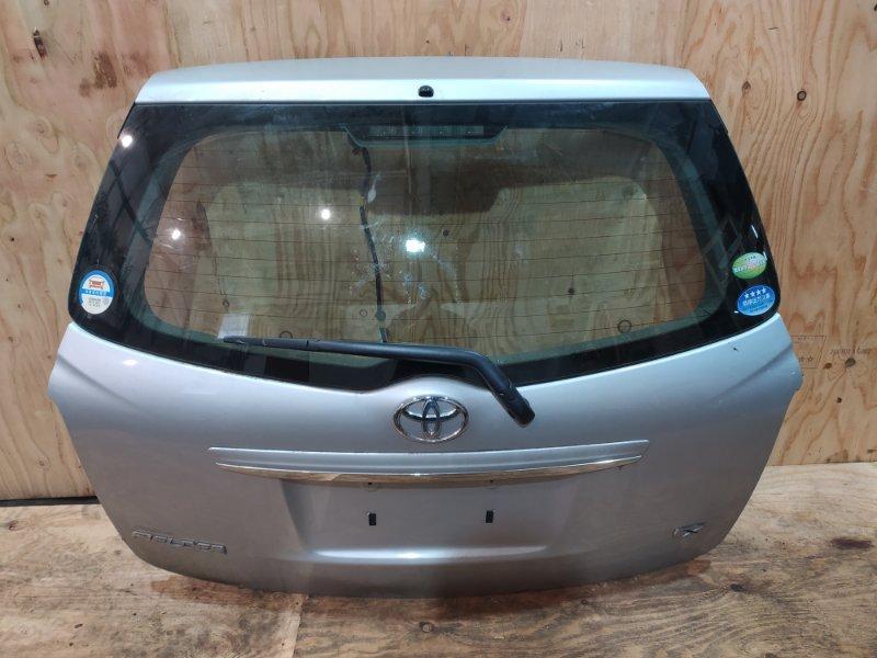 Дверь задняя багажника Toyota Corolla Fielder NZE141G 1NZ-FE 2007