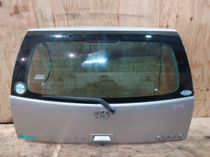 Дверь задняя багажника Toyota Opa ZCT10 1ZZ-FE 2001