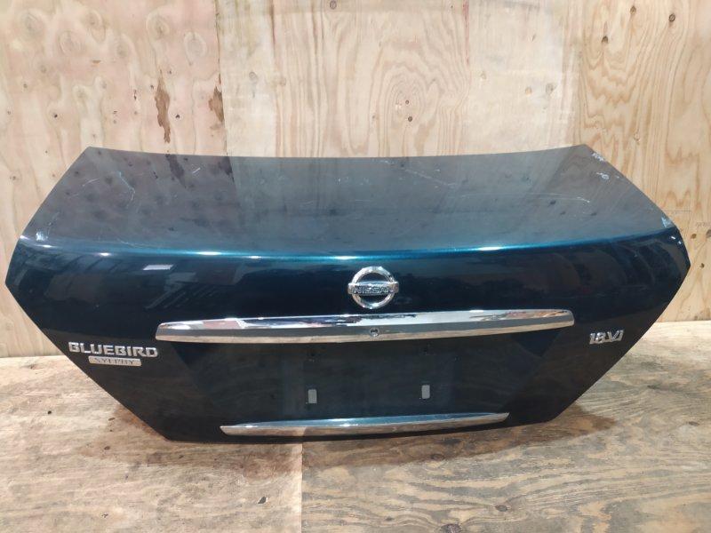 Крышка багажника Nissan Bluebird Sylphy QG10 QG18DE 2005