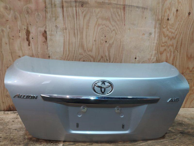 Крышка багажника Toyota Allion NZT260 1NZ-FE 2010