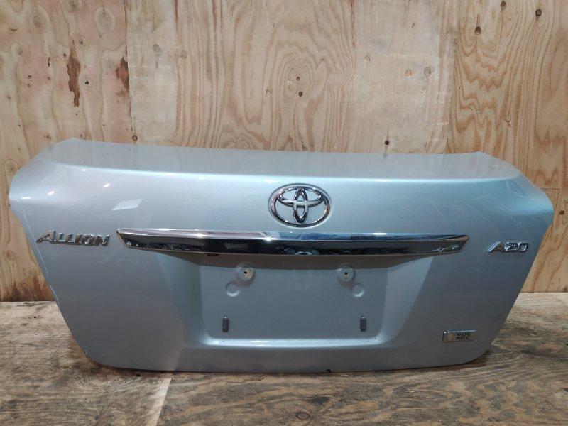 Крышка багажника Toyota Allion ZRT261 3ZR-FAE 2008