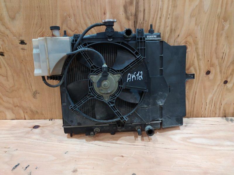 Радиатор двигателя Nissan March AK12 CR12DE 2007