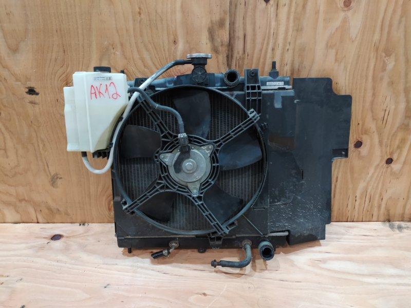 Радиатор двигателя Nissan March AK12 CR12DE 2002