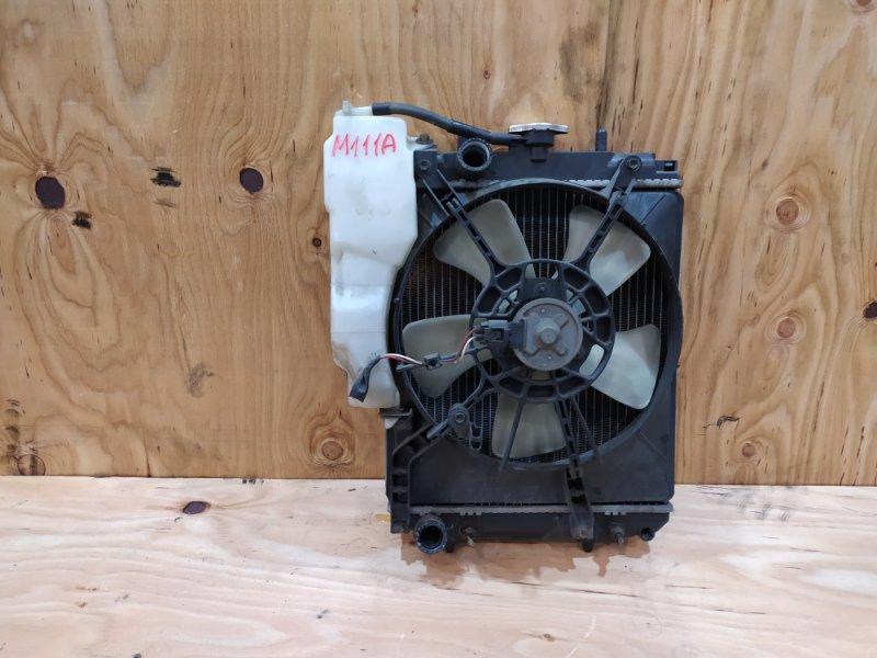 Радиатор двигателя Toyota Duet M111A K3-VE 2001