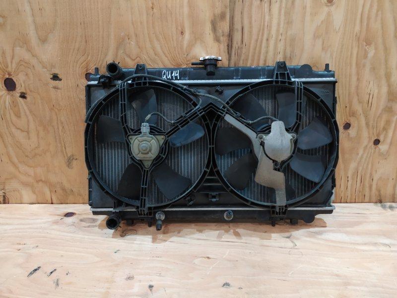 Радиатор двигателя Nissan Bluebird QU14 QG18DE 2000