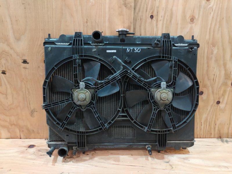 Радиатор двигателя Nissan X-Trail NT30 QR20DE 2003