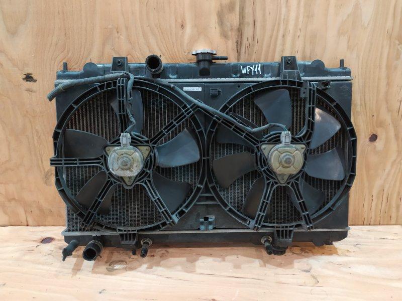 Радиатор двигателя Nissan Wingroad WFY11 QG15DE 2001