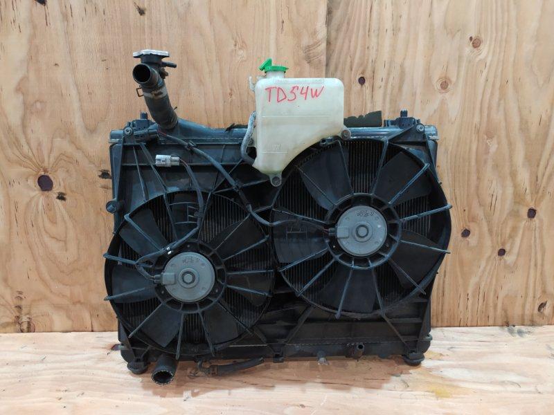 Радиатор двигателя Suzuki Escudo TD54W J20A 2007