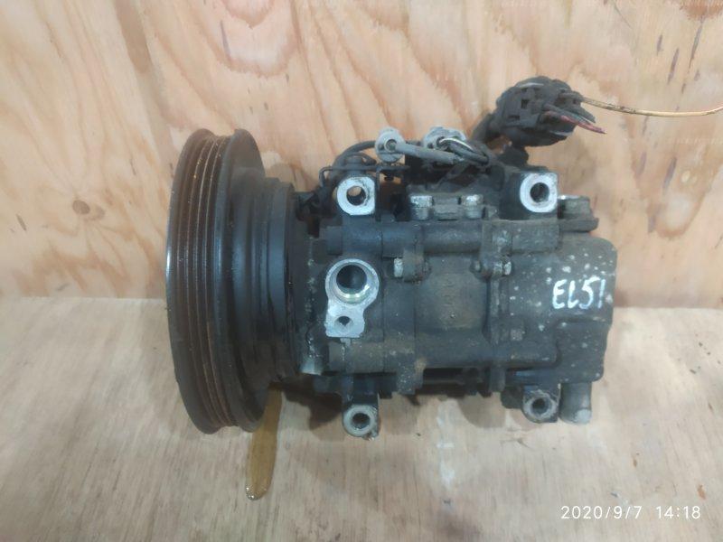 Компрессор кондиционера Toyota Corsa EL51 4E-FE 1995