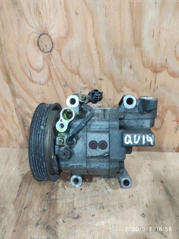 Компрессор кондиционера Nissan Bluebird QU14 QG18DE 2000