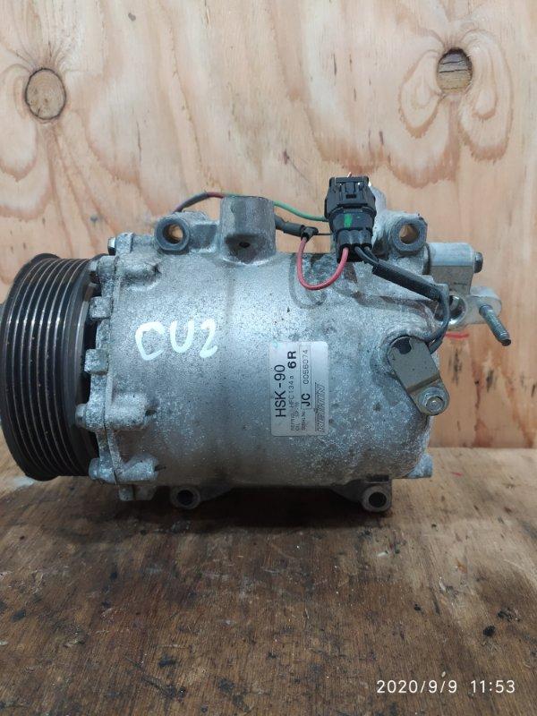 Компрессор кондиционера Honda Accord CU2 K24A 2009
