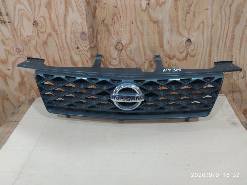 Решетка радиатора Nissan X-Trail NT30 QR20DE 2003