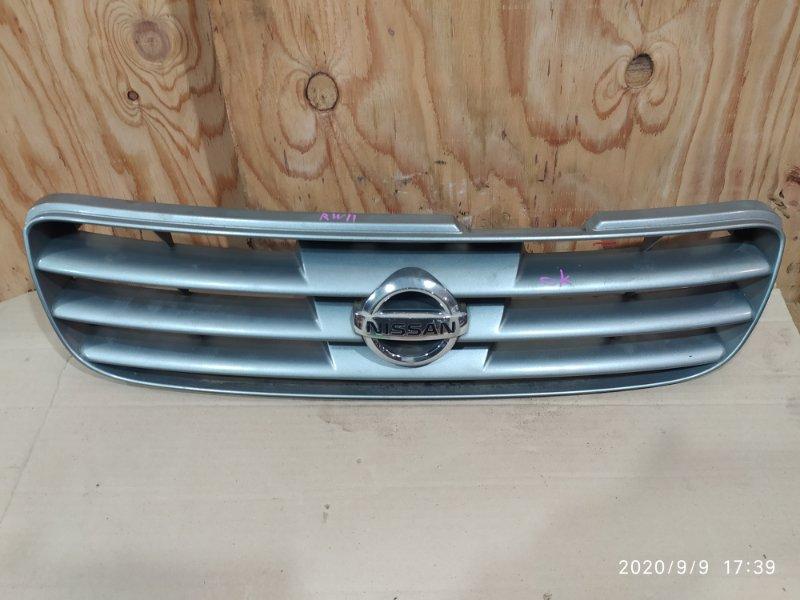 Решетка радиатора Nissan Avenir RW11 QR20DE 2005