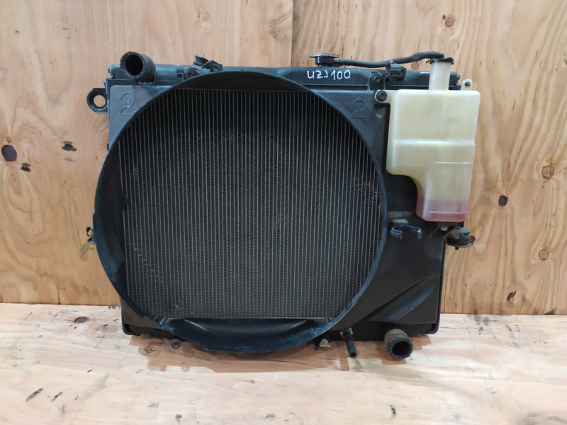 Радиатор двигателя Toyota Land Cruiser UZJ100W 2UZ-FE 1998
