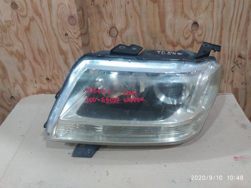 Фара Suzuki Escudo TD54W J20A 2007 левая