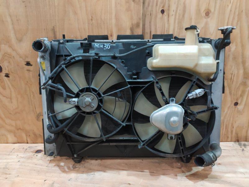 Радиатор двигателя Toyota Harrier MCU30W 1MZ-FE 2003