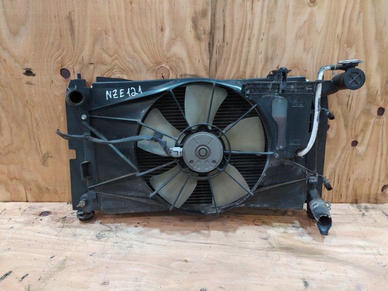 Радиатор двигателя Toyota Allex NZE121 1NZ-FE 2001