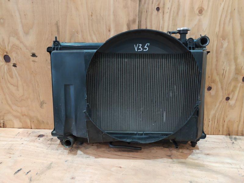 Радиатор двигателя Nissan Skyline V35 VQ25DD 2003