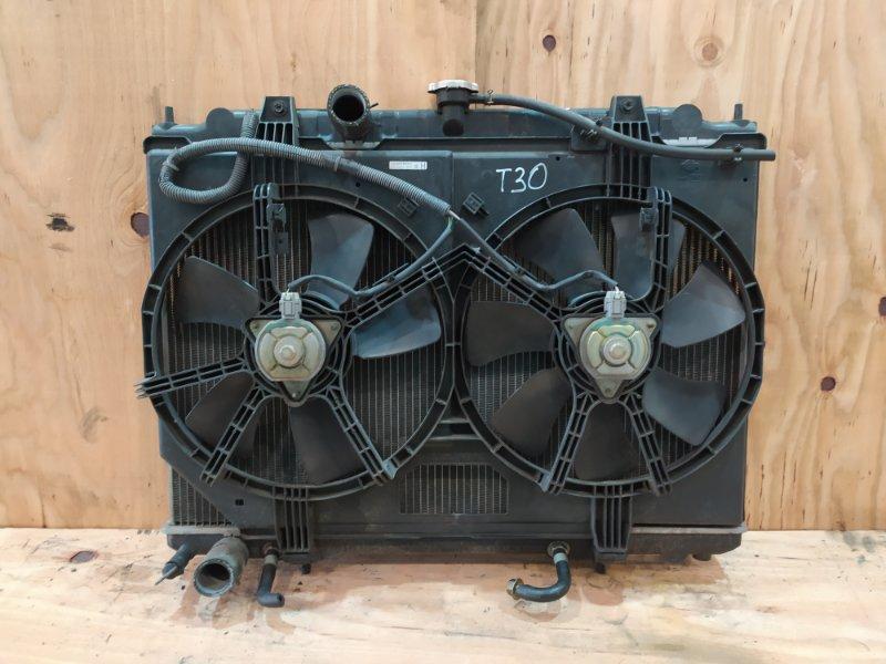 Радиатор двигателя Nissan X-Trail T30 QR20DE 2005