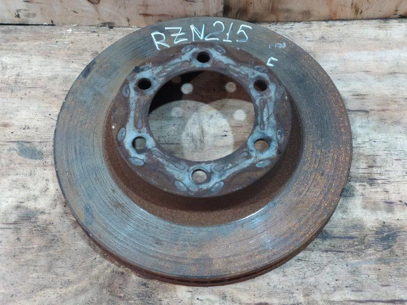 Диск тормозной Toyota Hilux Surf RZN215W 3RZ-FE 2003 передний