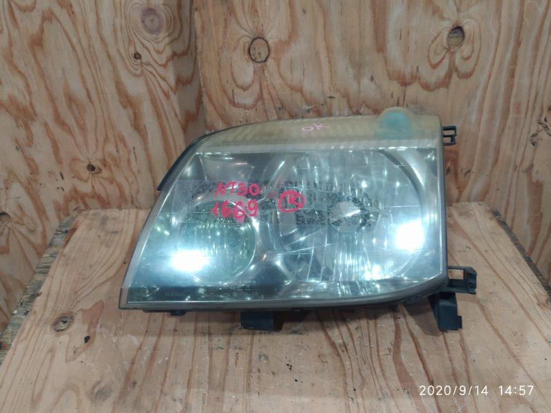 Фара Nissan X-Trail NT30 QR20DE 2003 левая