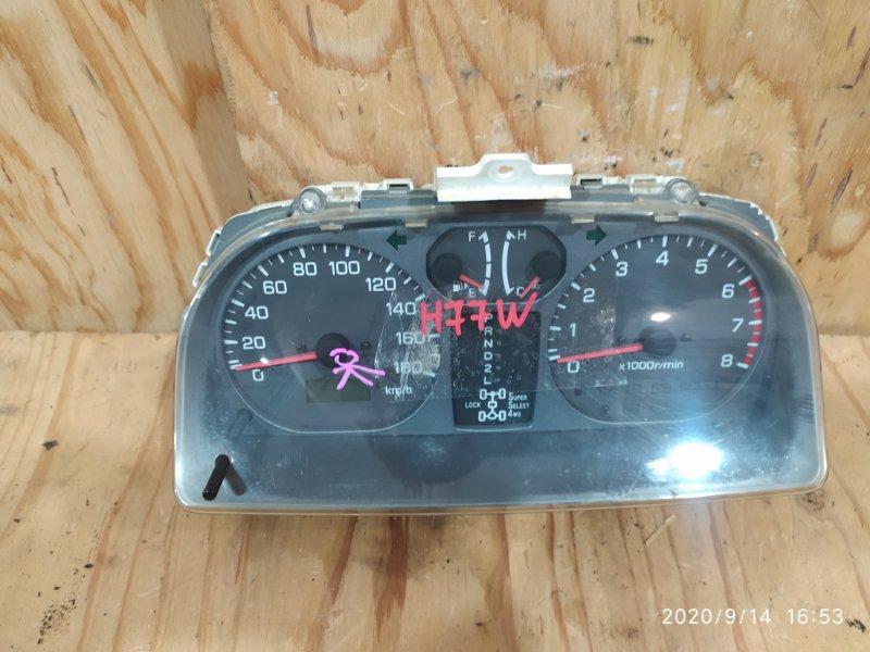 Комбинация приборов Mitsubishi Pajero Io H77W 4G94 2001