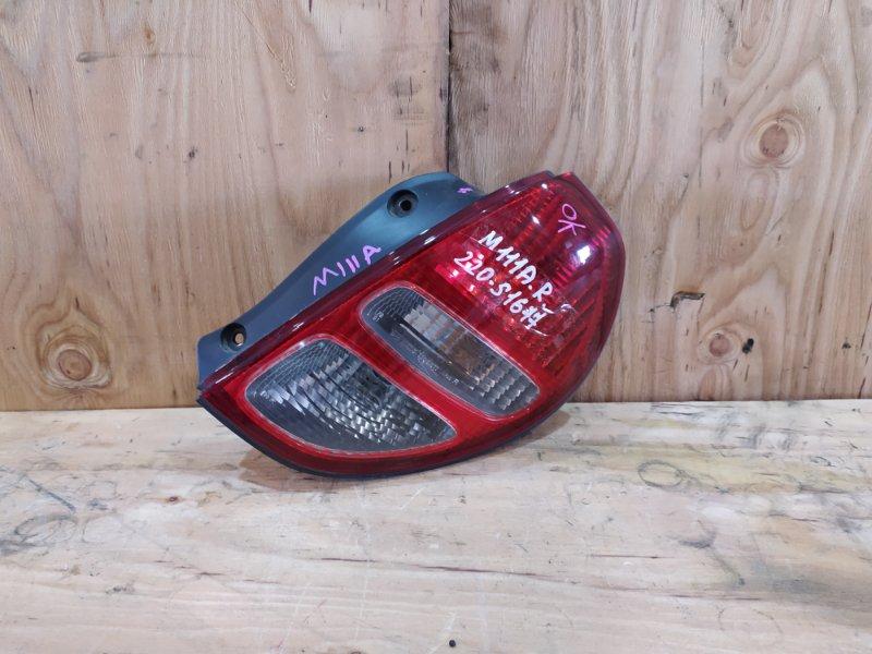 Фонарь стоп-сигнала Toyota Duet M111A K3-VE 2001 правый