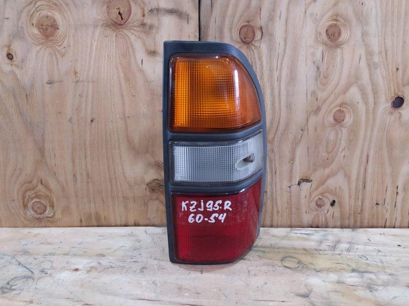 Фонарь стоп-сигнала Toyota Land Cruiser Prado KZJ95W 1KZ-TE 1997 правый