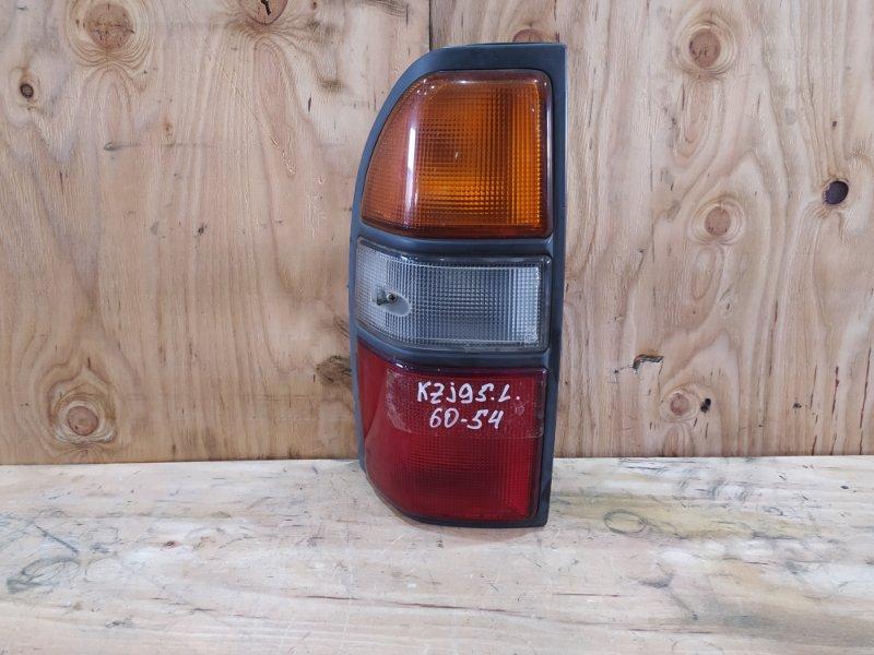 Фонарь стоп-сигнала Toyota Land Cruiser Prado KZJ95W 1KZ-TE 1997 левый