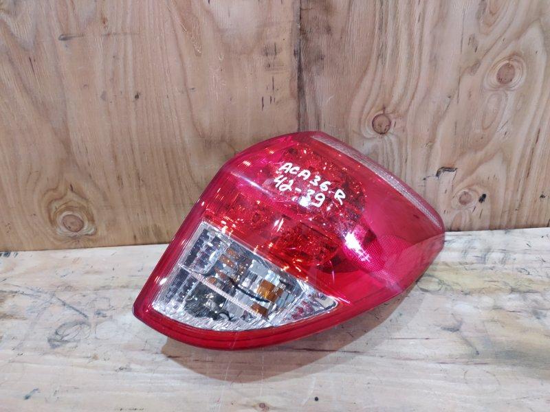 Фонарь стоп-сигнала Toyota Rav4 ACA36W 2AZ-FE 2007 правый