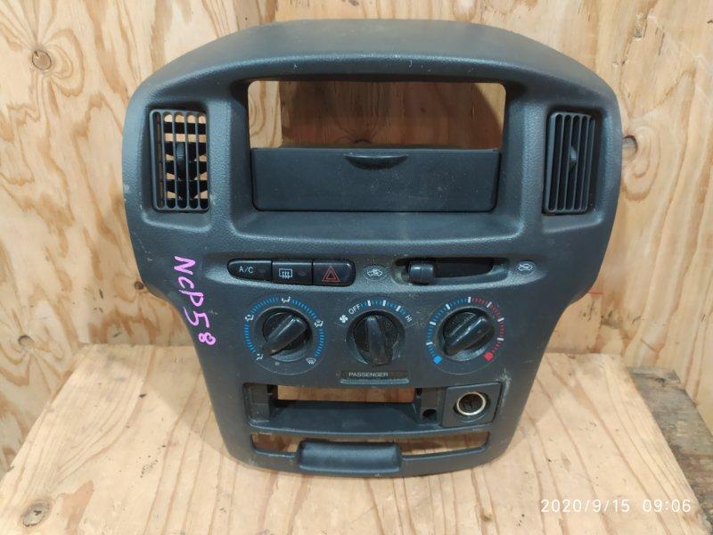 Блок управления климат-контролем Toyota Probox NCP58G 1NZ-FE 2003