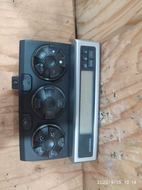 Блок управления климат-контролем Toyota Hilux Surf RZN215W 3RZ-FE 2003