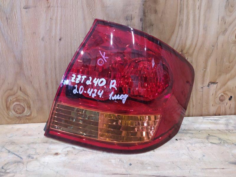 Фонарь стоп-сигнала Toyota Allion ZZT240 1ZZ-FE 2003 правый