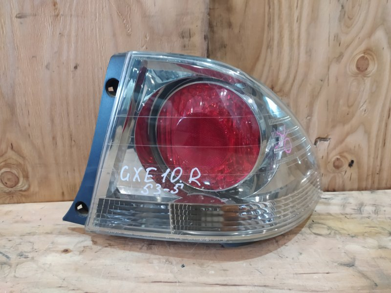 Фонарь стоп-сигнала Toyota Altezza GXE10 1G-FE 2000 правый