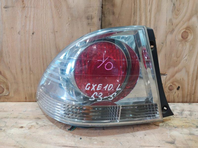 Фонарь стоп-сигнала Toyota Altezza GXE10 1G-FE 2000 левый