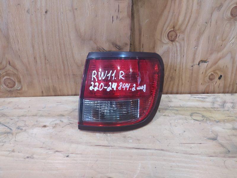 Фонарь стоп-сигнала Nissan Avenir RW11 QR20DE 2005 правый
