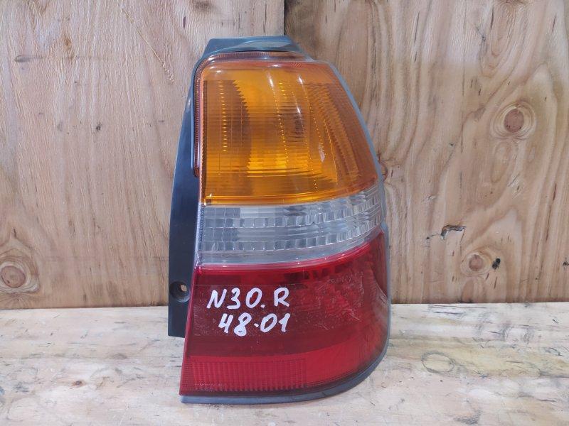 Фонарь стоп-сигнала Nissan Rnessa N30 SR20DE 2001 правый