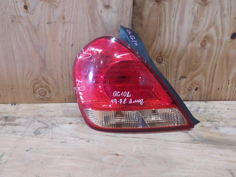 Фонарь стоп-сигнала Nissan Bluebird Sylphy QG10 QG18DE 2005 левый