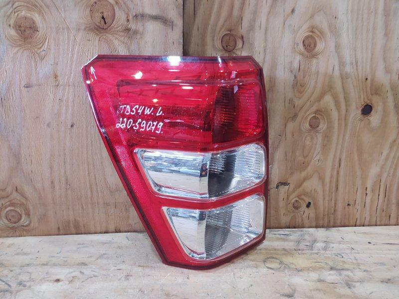 Фонарь стоп-сигнала Suzuki Escudo TD54W J20A 2007 левый