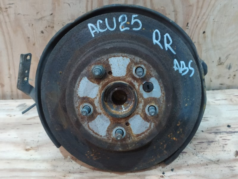 Ступица Toyota Kluger ACU25W 2AZ-FE 2001 задняя правая